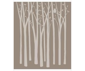 Birch Trees Wall Mural.