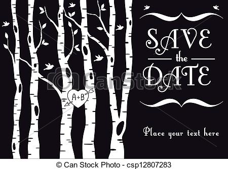 Birch Tree Clipart With Leaves.
