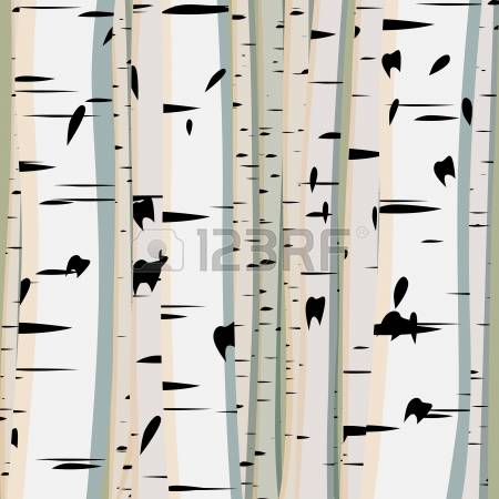 Birches Stock Vector Illustration And Royalty Free Birches Clipart.