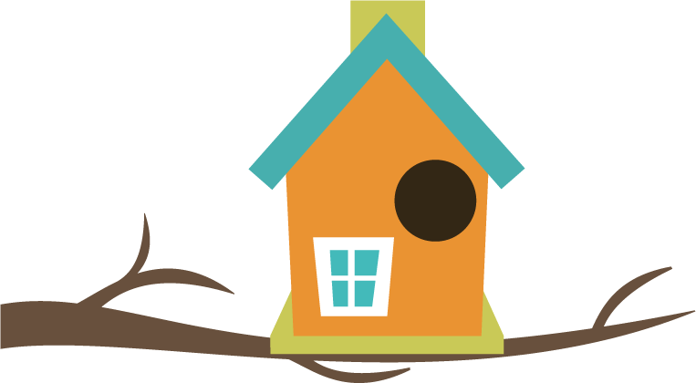 Bird houses clipart - Clipground