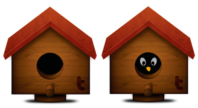 Bird box clipart - Clipground