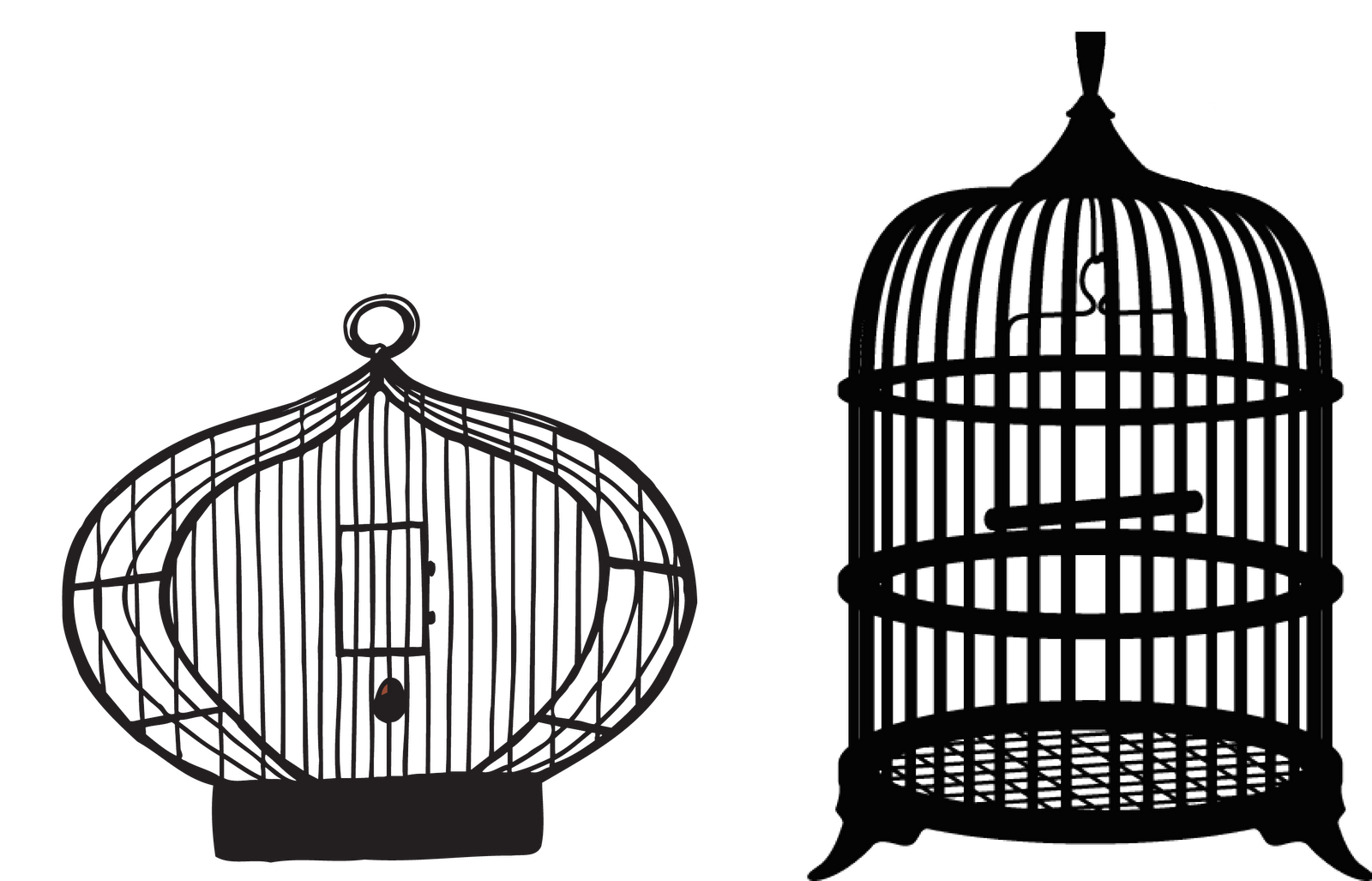 Bird Cage Transparent Clipart.