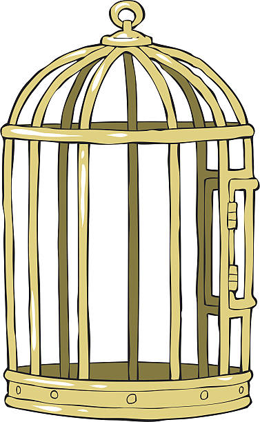 Best Empty Bird Cage Illustrations, Royalty.