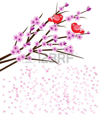 3,576 Bird Cherry Stock Vector Illustration And Royalty Free Bird.