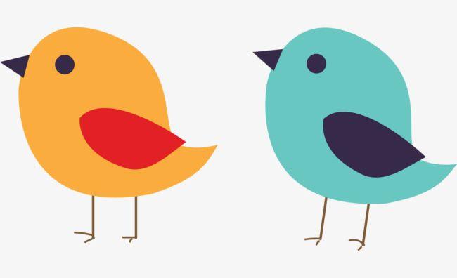 Two Cute Birds PNG, Clipart, Animal, Bird, Birds, Birds.