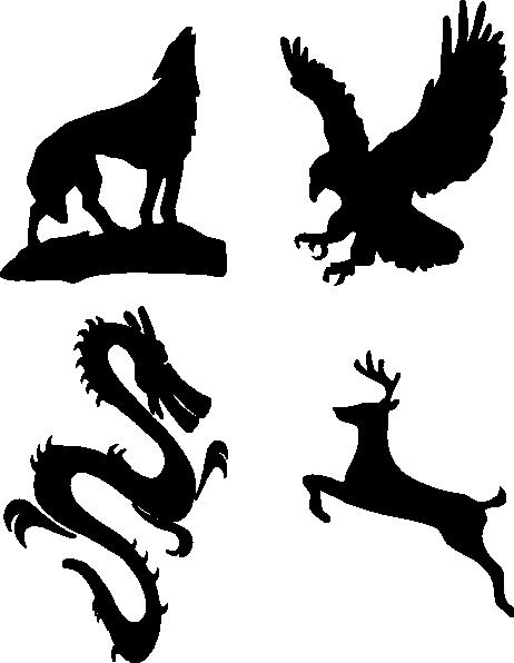 Bald Eagle Bird Coat of arms Clip art.