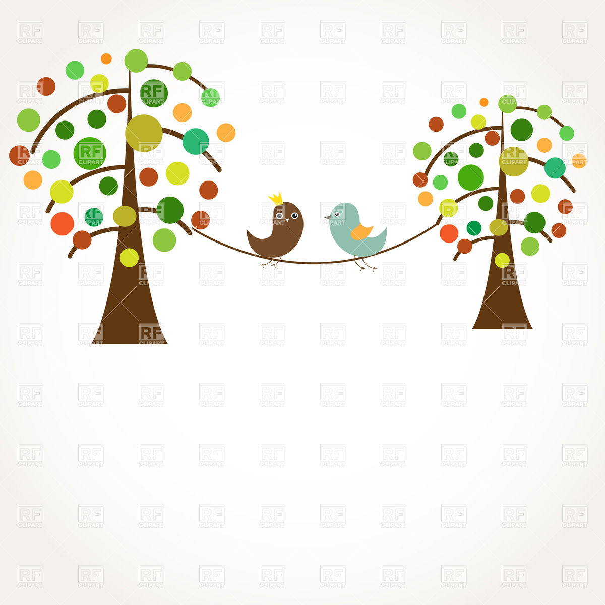 Couple Tree Clipart.