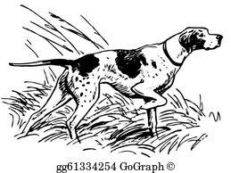 Hunting Dog Clip Art.