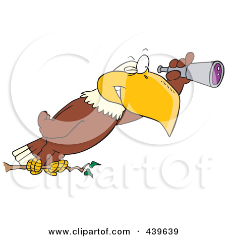 Birds eye view clipart.