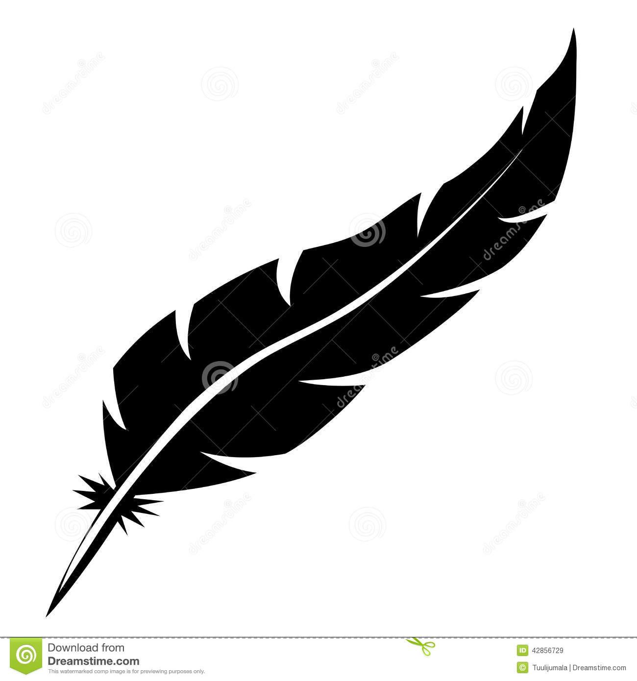 Feather Bird Clipart.