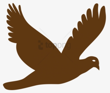 Free Bird Flying Clip Art with No Background.