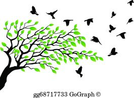 Flying Bird Clip Art.