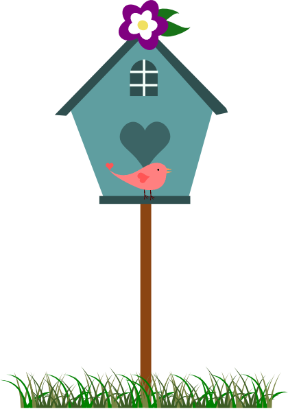 Birdhouse Free Clipart.