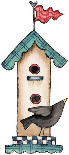 1000+ images about Birds house and cages illustrations on.