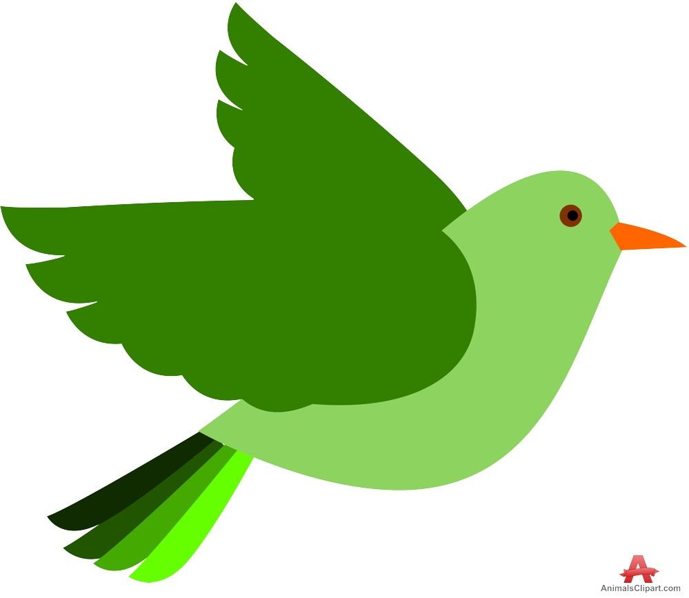 Green bird clipart free clipart design download.
