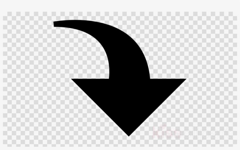 Curved Down Arrow Clipart Arrow Clip Art.