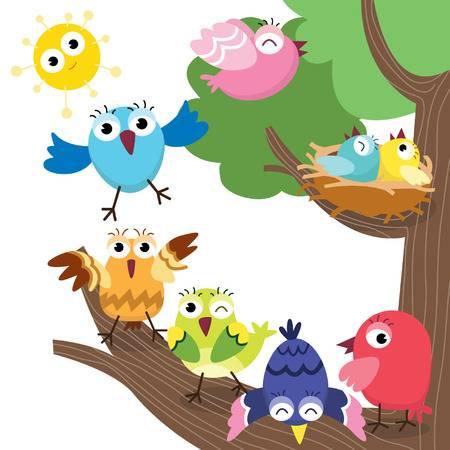 9,499 Bird Nest Stock Illustrations, Cliparts And Royalty Free Bird.