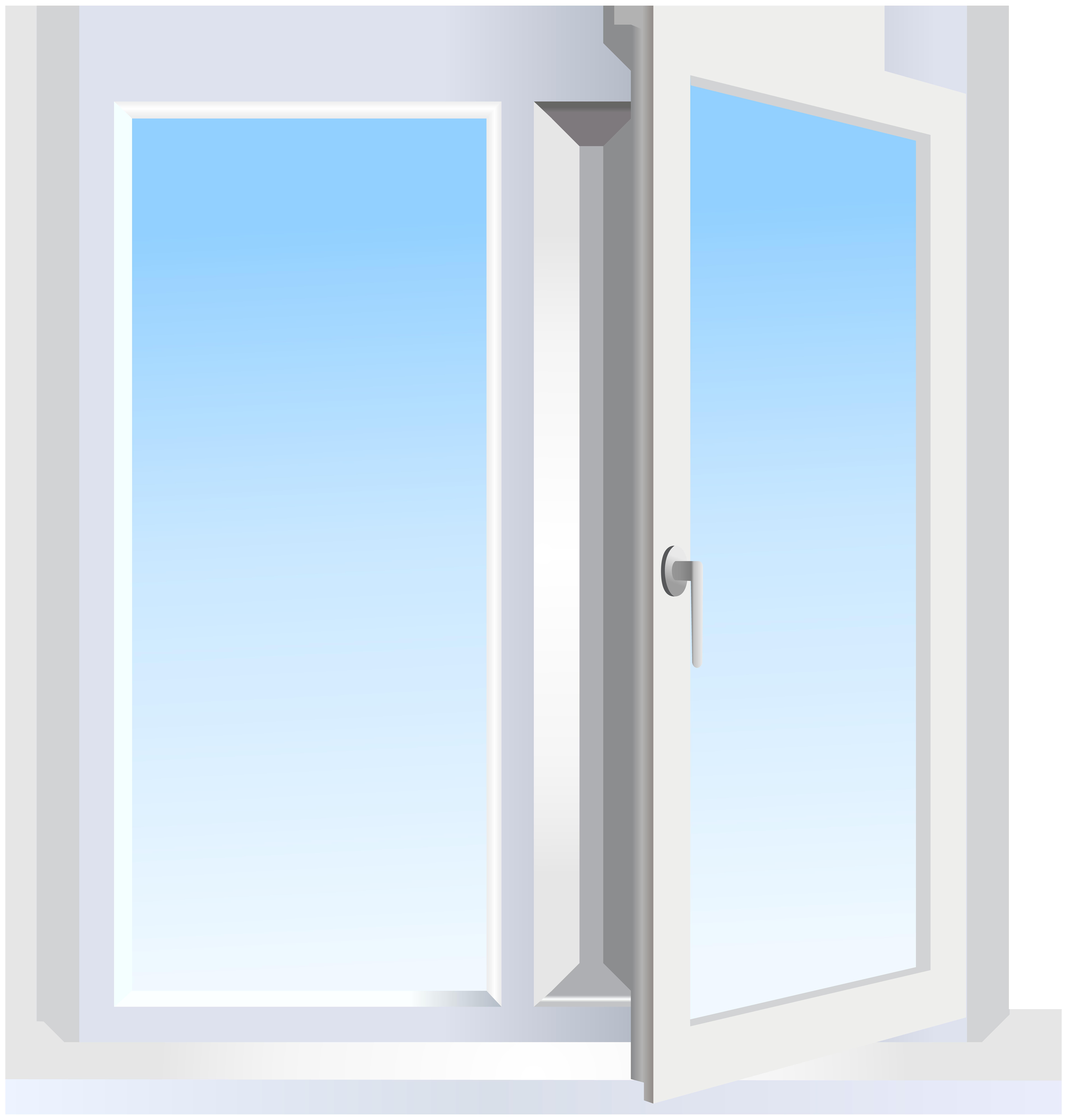 Open Window PNG Clip Art.