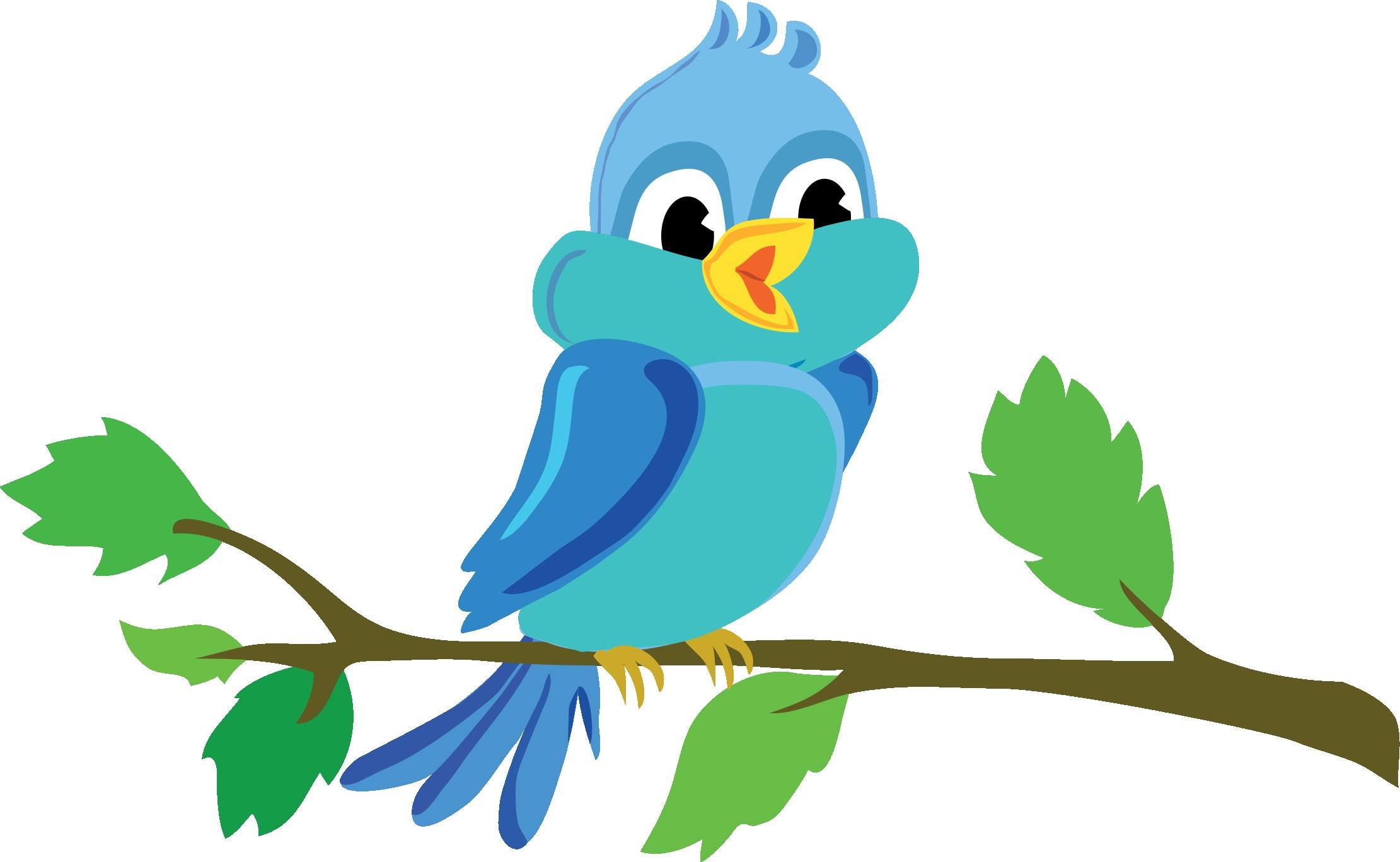 On Clipart Of Bird Tree Love 10.