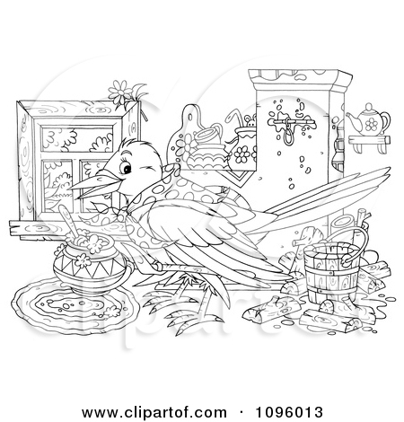 Royalty Free Stock Illustrations of Birds by Alex Bannykh Page 8.