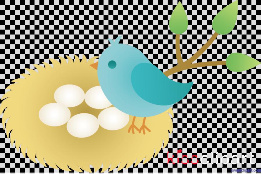 Bird, Nest, Egg, transparent png image & clipart free download.