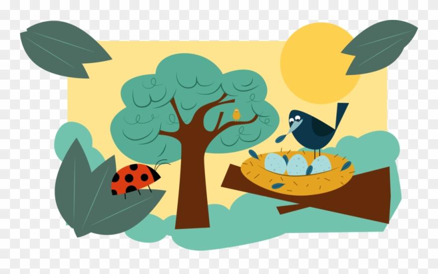 Tree Bird Nest 02.