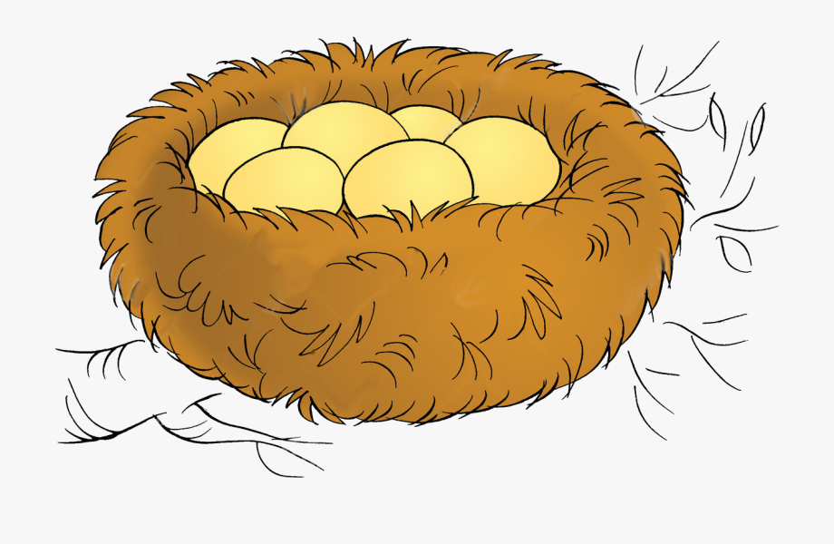 Bird Nest Clipart Png , Png Download.