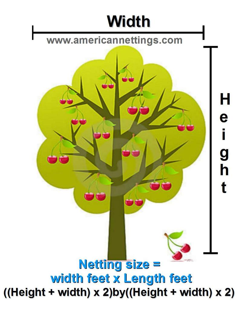 How to Measure For Your Bird Netting.