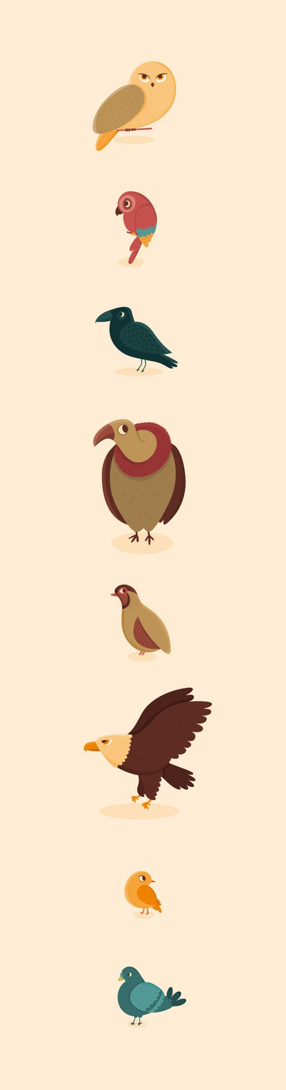 Flats, Birds and Graphics on Pinterest.
