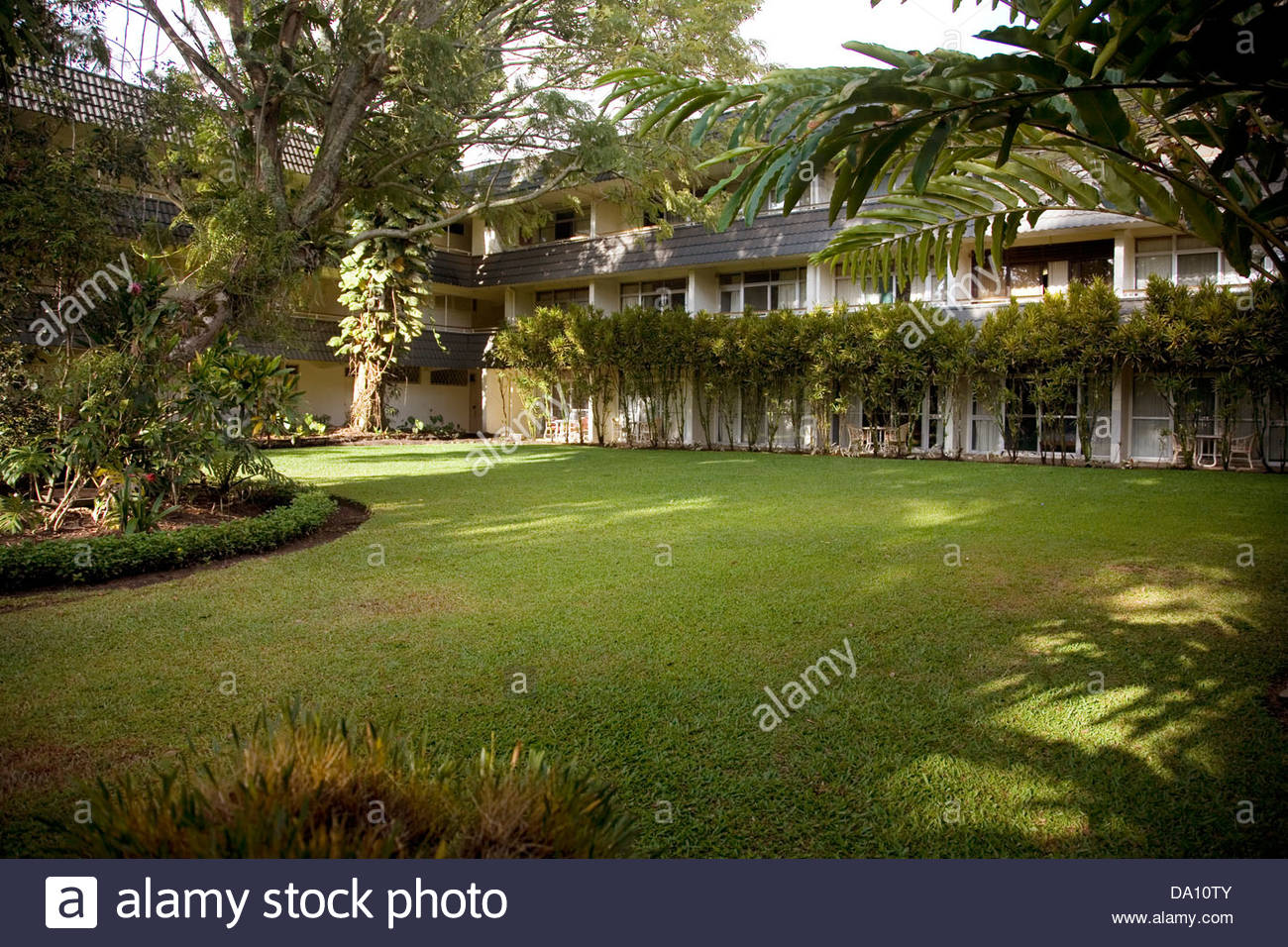 The Bird of Paradise Hotel is a traveler's haven in Goroka, Eastern.
