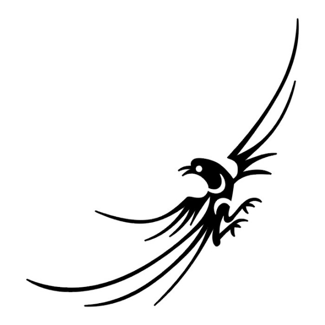 50+ Tribal Birds Tattoos.