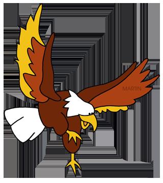 Bird of prey clipart.