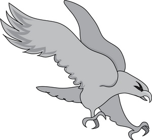 Birds of prey clipart.