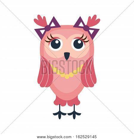 Cartoon Smiling Bird Character Branch Illustration Images, Stock.