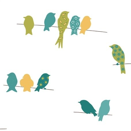 Bird on a wire clipart » Clipart Portal.