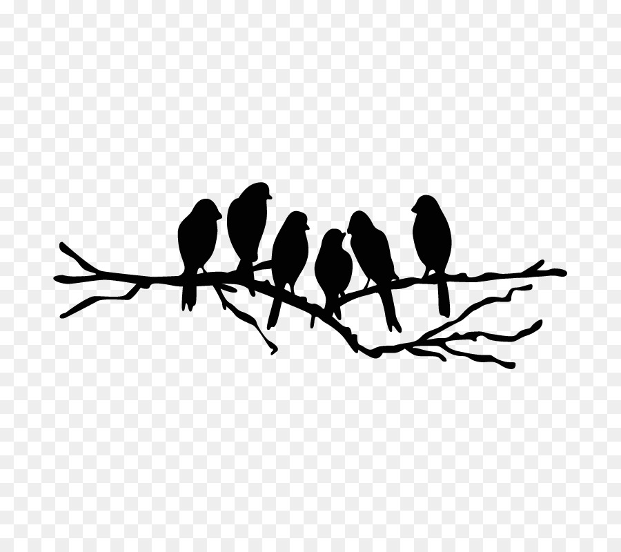 Free Silhouette Bird On Branch, Download Free Clip Art, Free Clip.