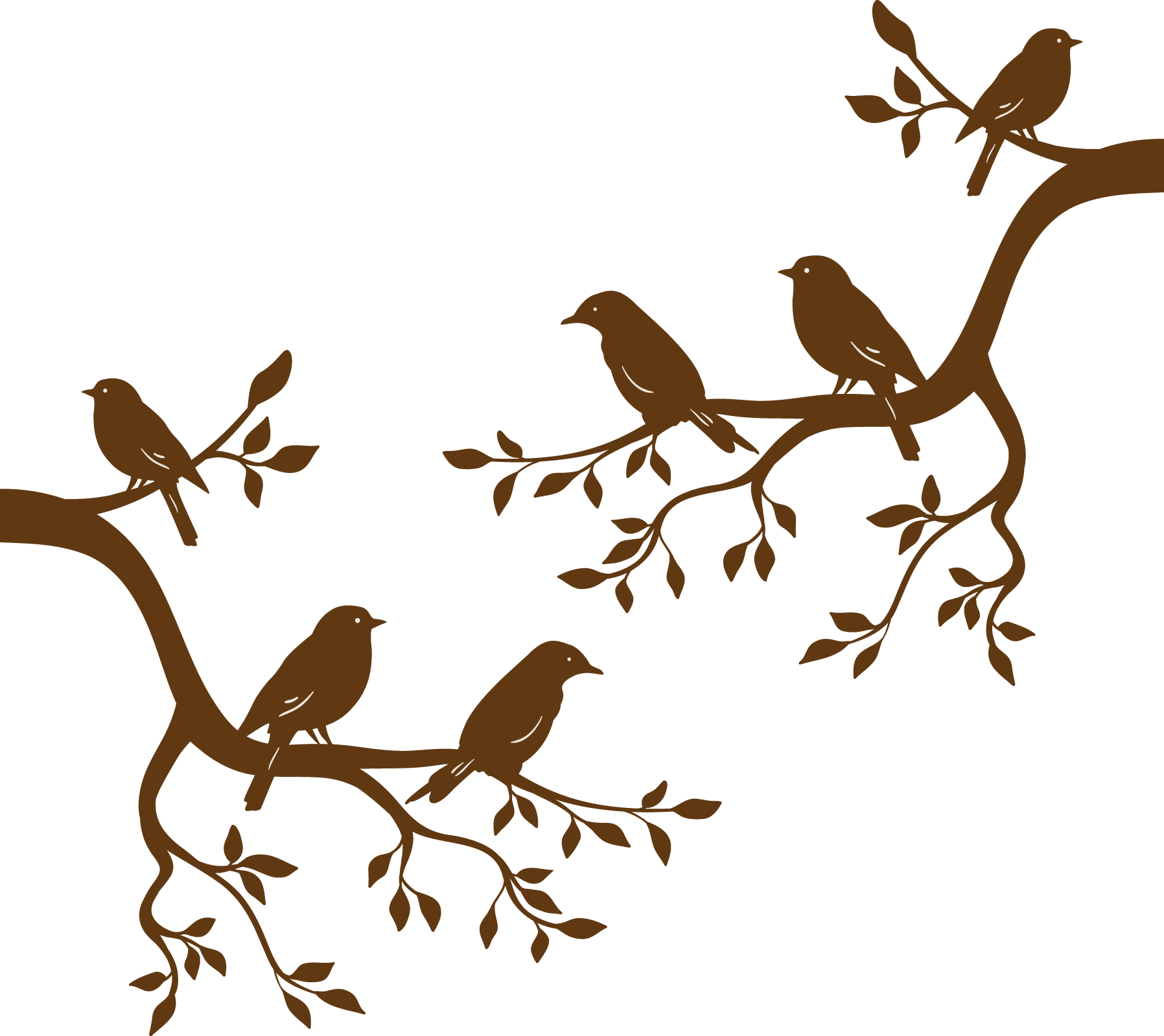 Bird Branch Tree Euclidean vector.