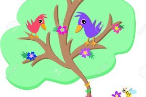 Bird on the tree clipart 7 » Clipart Portal.