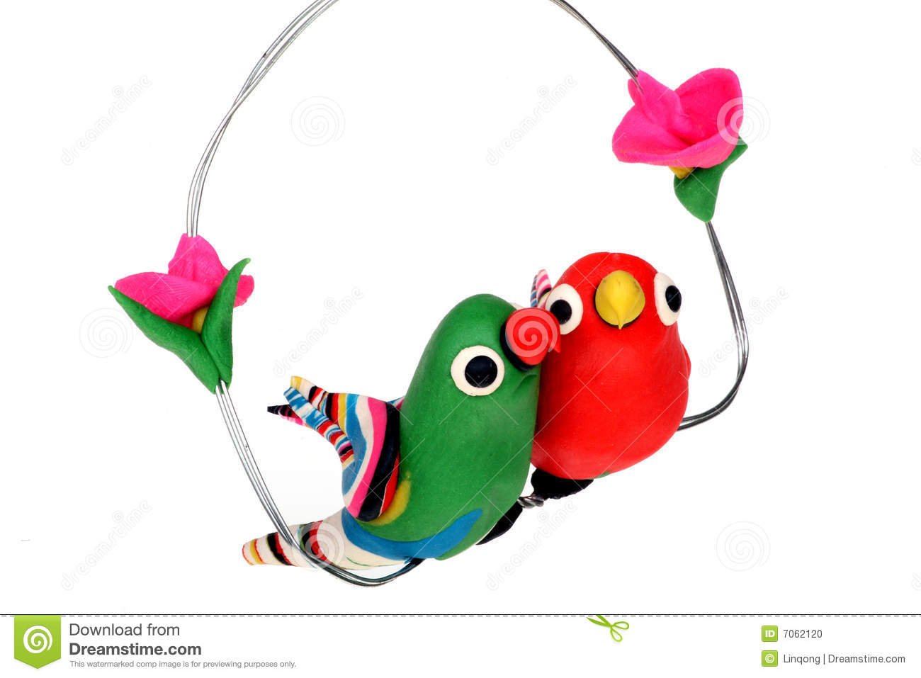 Cute Pair Birds Stock Photos, Images, & Pictures.