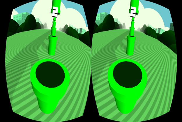 """Oculus Rift """"Flappy Bird"""" Puts Gamers In The Birds' Perspective."""