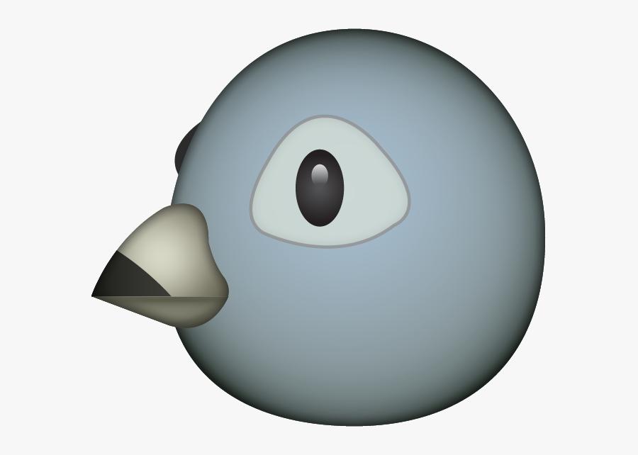 Clip Art Pigeon Emoji.