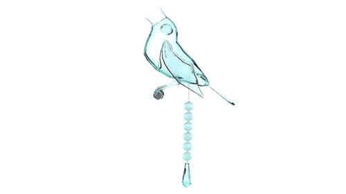 Bird Poop Chandelier by Wyatt Little.