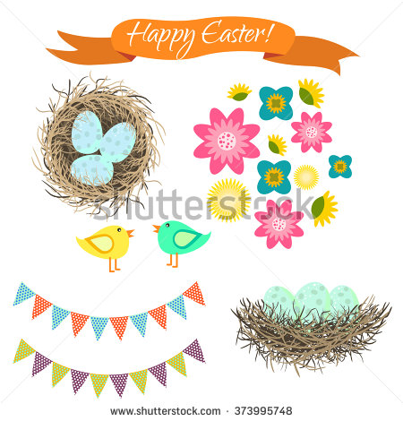 Bird Nest Stock Images, Royalty.