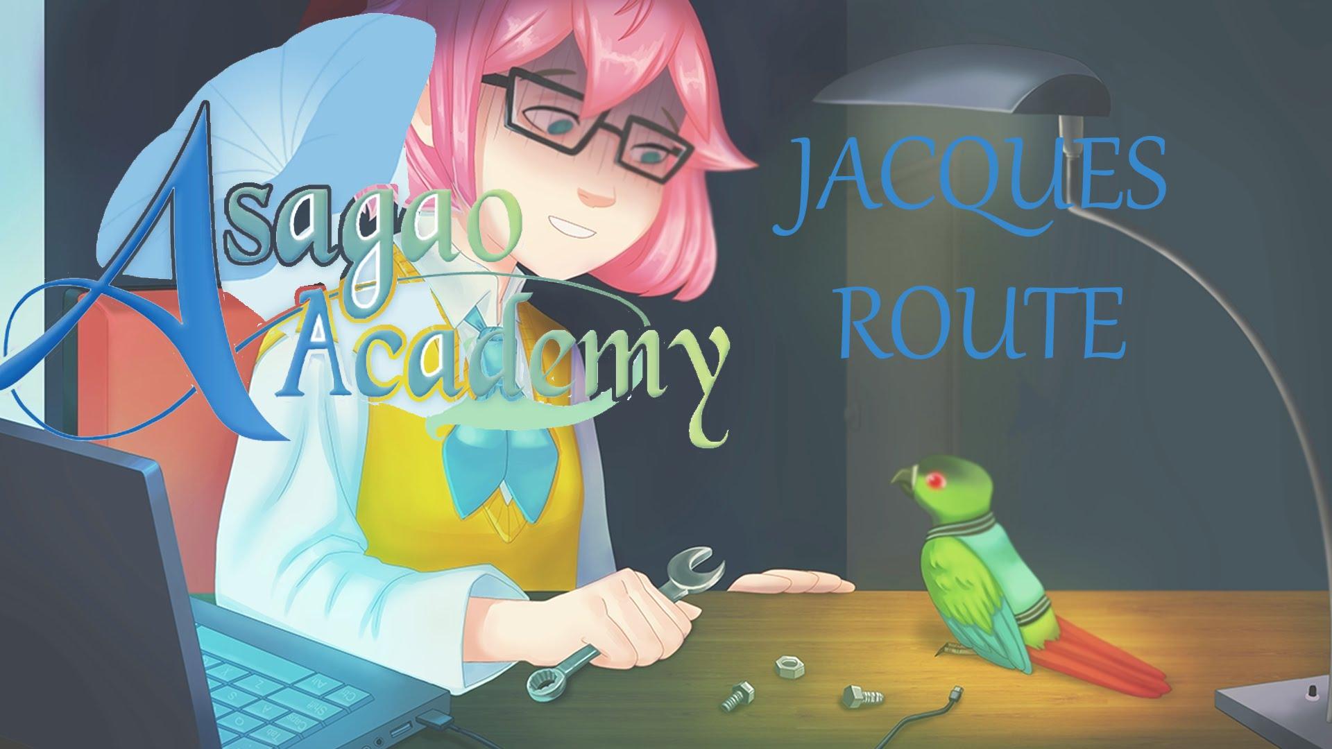 Asagao Academy Secret/Hidden Jacques Route Part 1.
