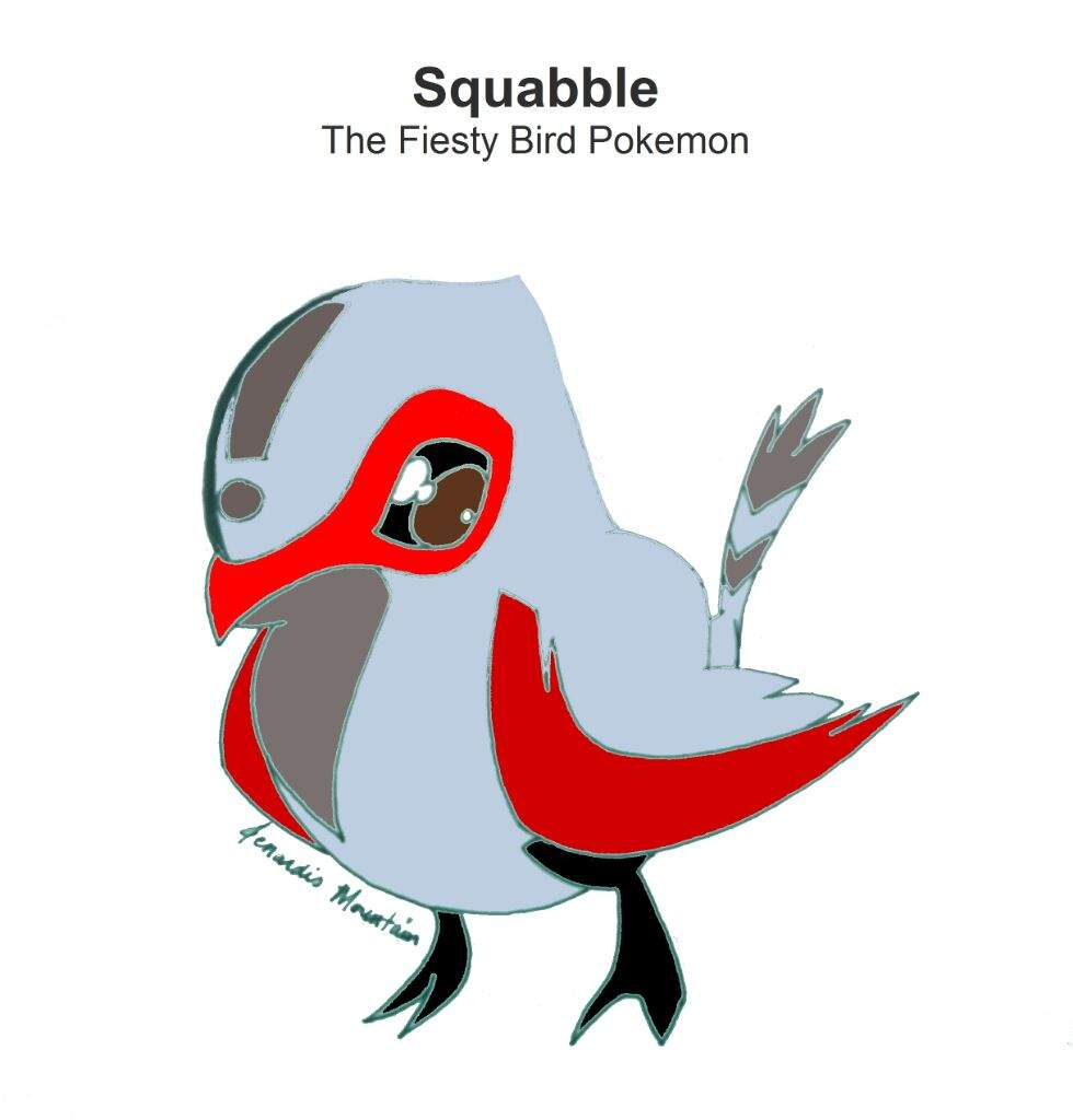 """The """"First Route Birds"""" (Squabble >> Frigallant)."""