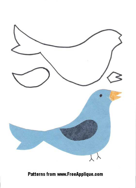 24 Bird Patterns.