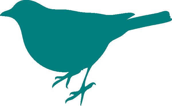 Copyright Free Bird Silhouette Clip Art.
