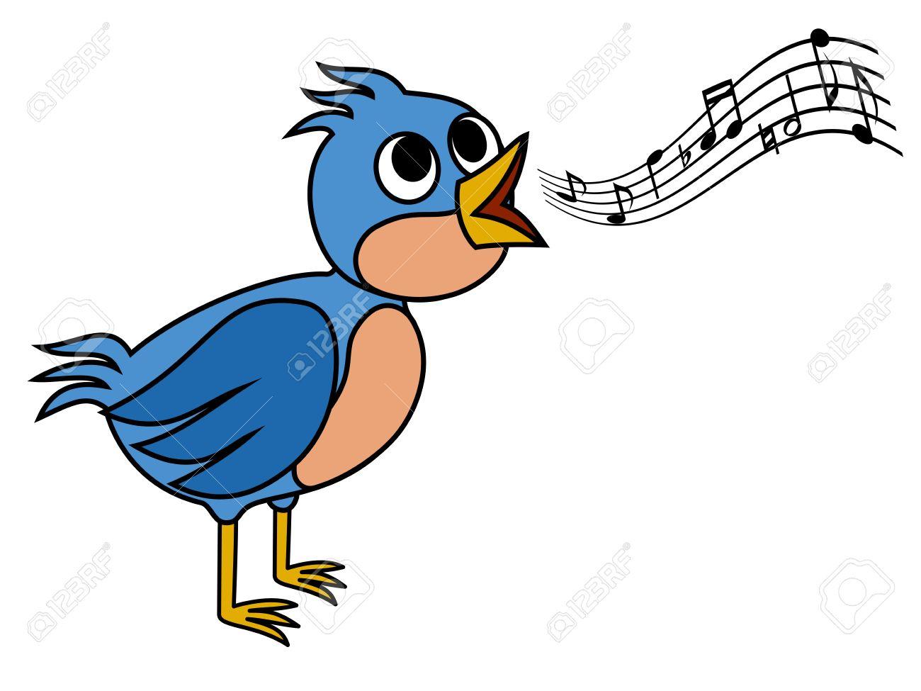 Singing bird.