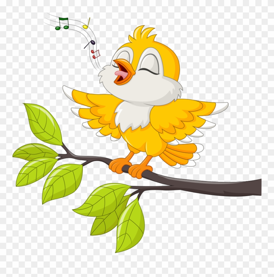 Bird Singing Stock Illustration Illustration.