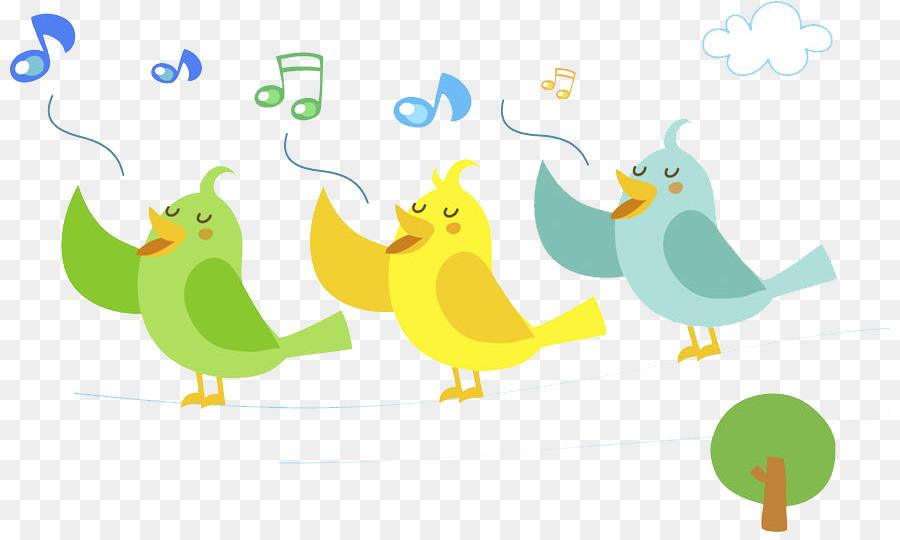 Birds Singing Png & Free Birds Singing.png Transparent Images #15949.